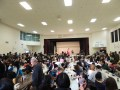 Japanese Hall was packed!・ホールは大混雑